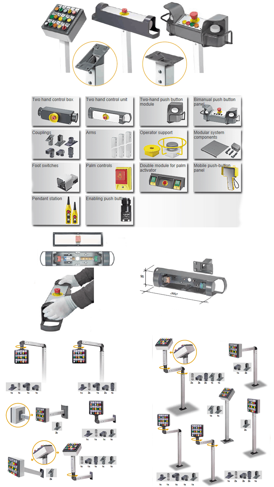 Industrial Control, Safety Control, Pendant Control